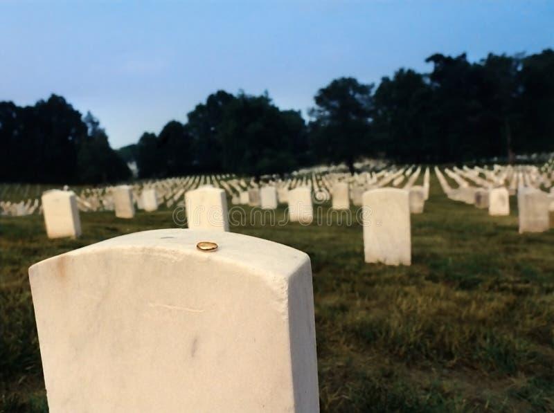 阿灵顿墓地国民 免版税库存图片