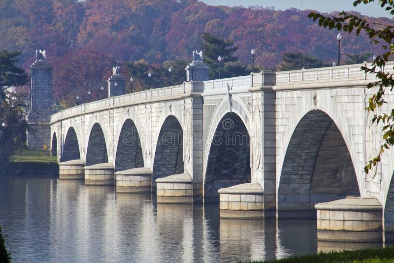 阿灵顿桥梁纪念品 免版税图库摄影