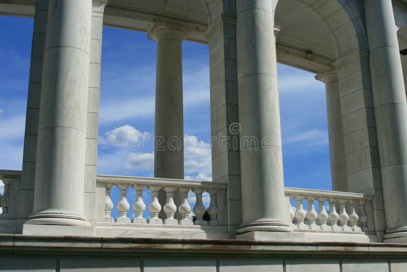 阿灵顿colosseum 免版税库存图片