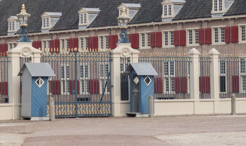 阿珀尔多伦,荷兰, 2016年3月6日:皇家palac的正面图 图库摄影