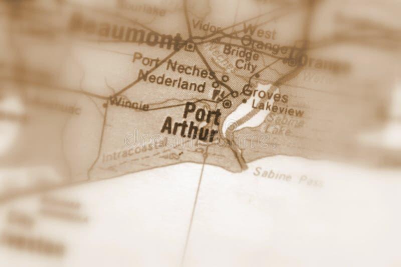 阿瑟港,U的一个城市 S 图库摄影