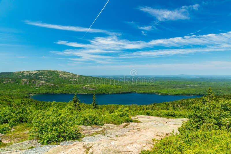 阿科底亚国家公园 免版税图库摄影