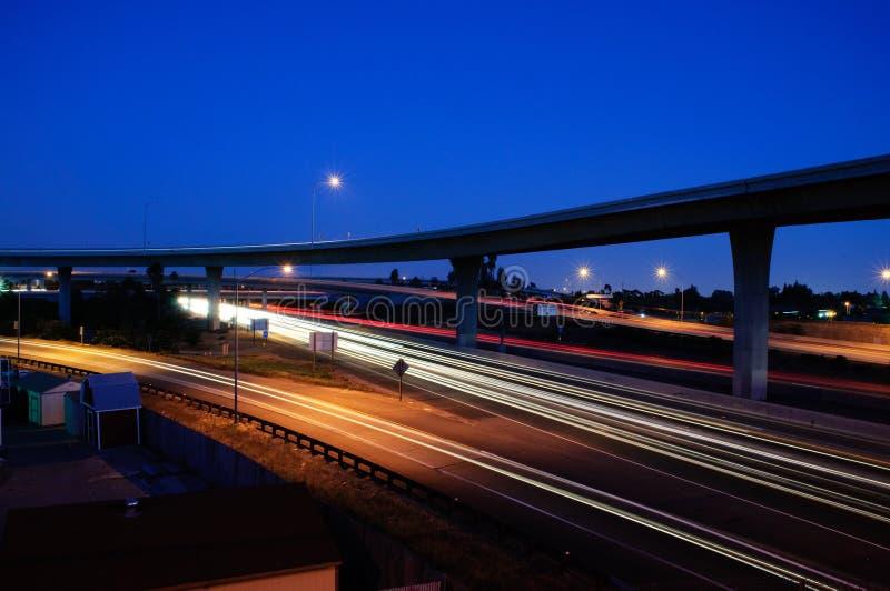 阿纳海姆高速公路 免版税库存照片