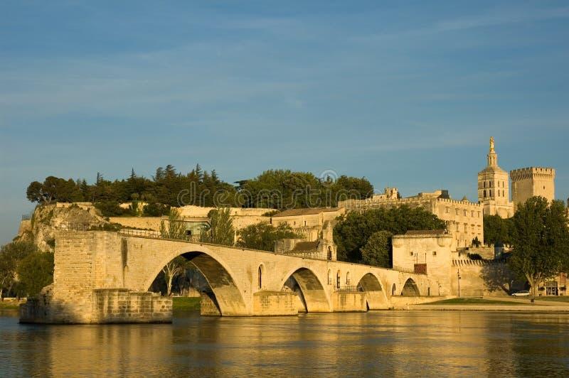 阿维尼翁d pont 免版税图库摄影