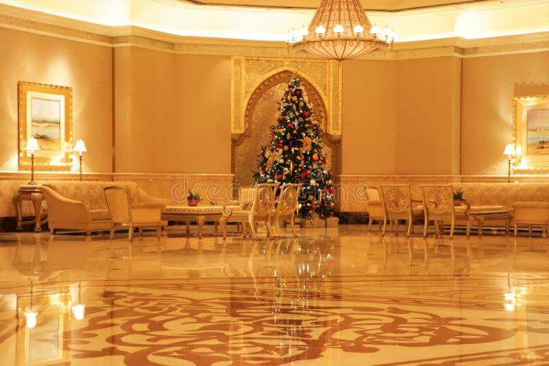 阿联酋阿布扎比酋长国宫殿 免版税图库摄影