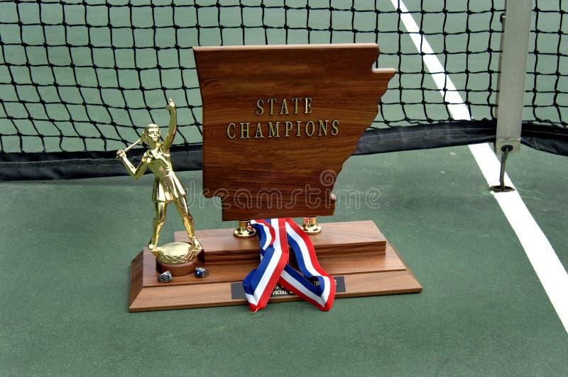 阿肯色冠军网球 库存照片