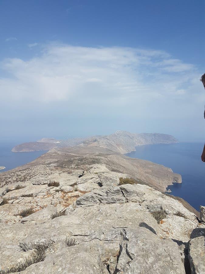 阿莫尔戈斯岛海岛 库存照片