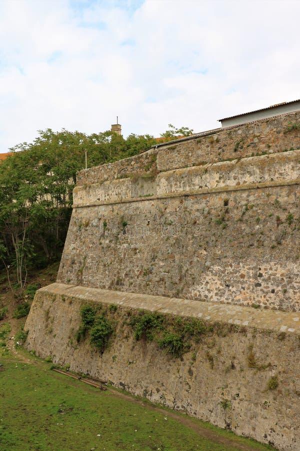 阿雅克修堡垒 库存照片