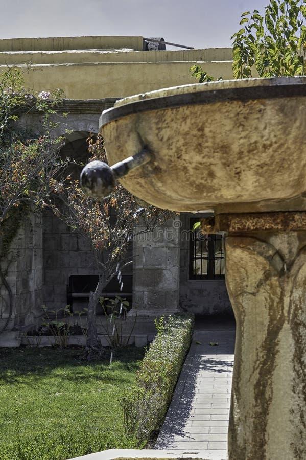阿雷基帕,建筑纪念碑 免版税库存照片