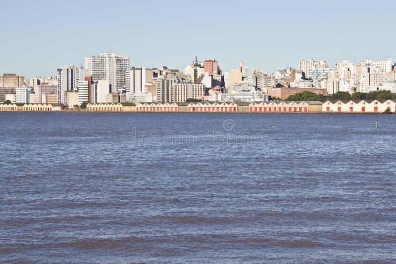 阿雷格里港口岸 库存图片