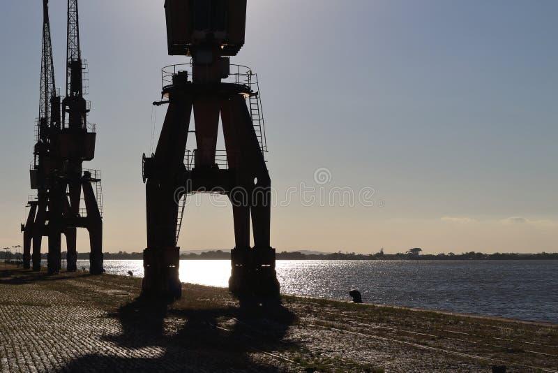 阿雷格里港,巴西港  免版税图库摄影