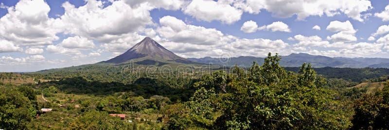 阿雷纳尔火山,哥斯达黎加 图库摄影