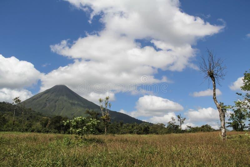阿雷纳尔火山,哥斯达黎加 库存照片