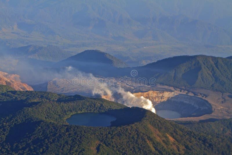 阿雷纳尔火山 库存照片