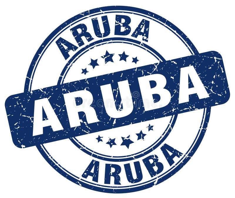 阿鲁巴邮票 皇族释放例证