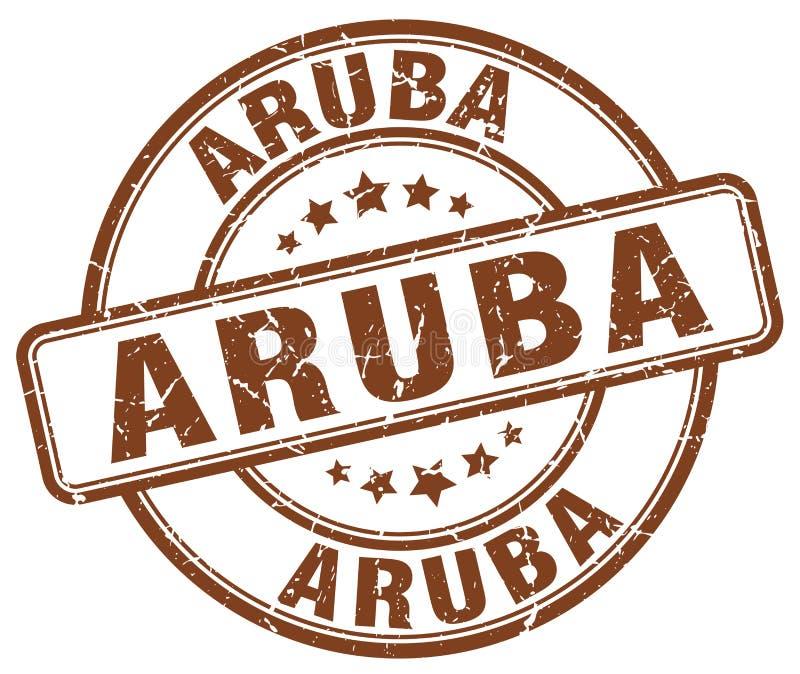 阿鲁巴邮票 库存例证