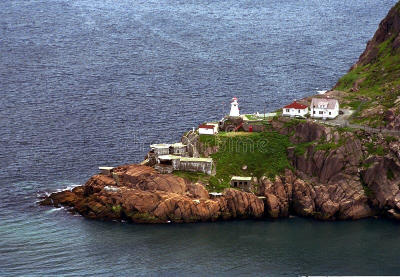阿默斯特堡垒纽芬兰 免版税库存照片