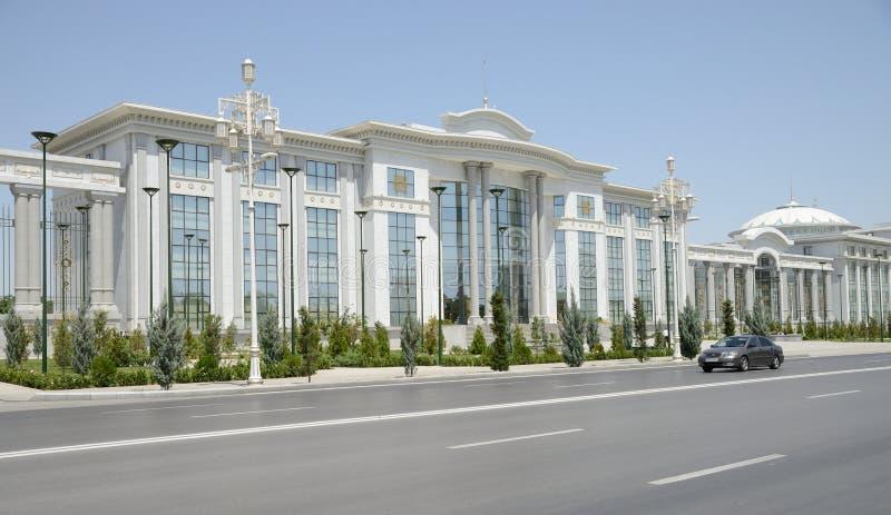 阿什伽巴特,土库曼斯坦 库存图片