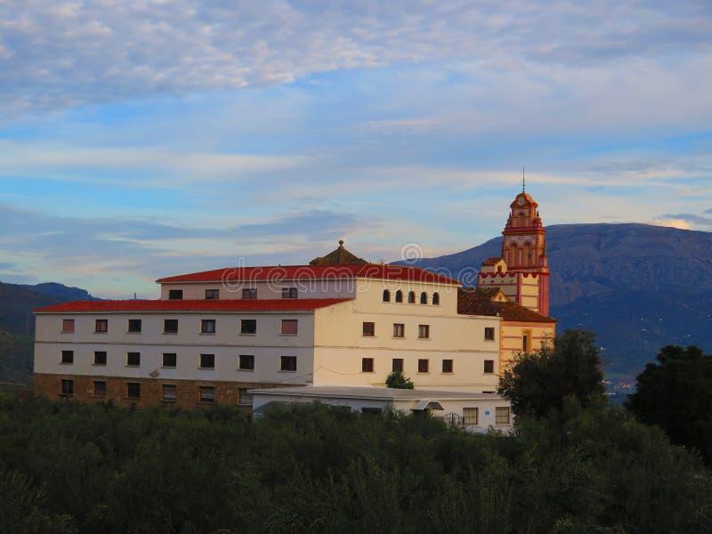 阿洛拉受护神,弗洛勒斯女修道院  免版税库存照片