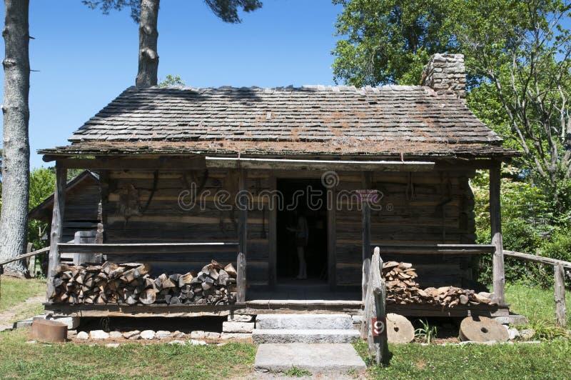 阿巴拉契亚边陆博物馆,克林顿, Tennesee,美国 库存图片