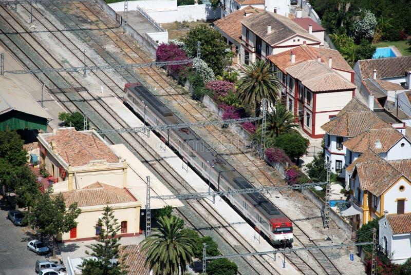阿洛拉火车站 库存照片