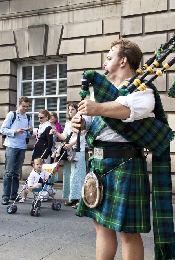 附加费用节日爱丁堡 库存图片