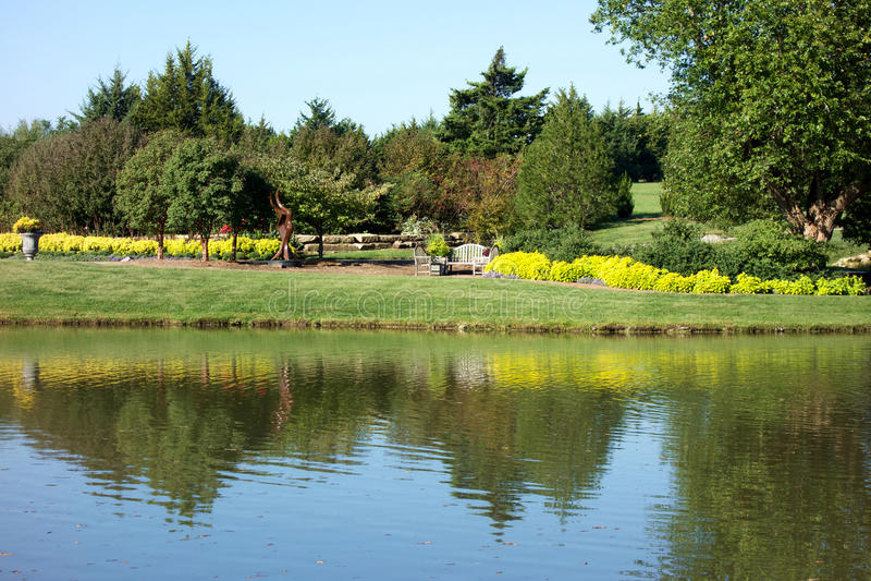 陆上公园树木园和植物园 免版税库存照片