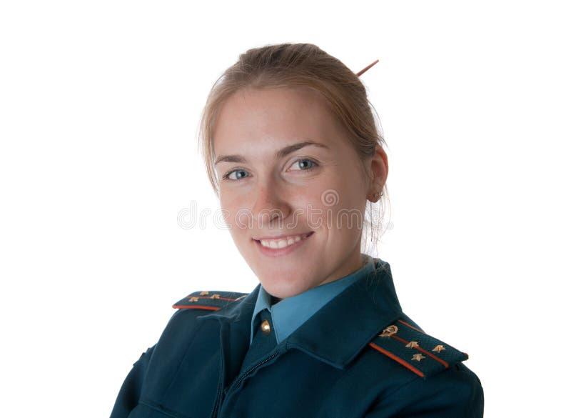 陆军中尉前辈 库存图片