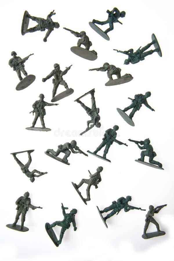 陆军人 免版税库存照片
