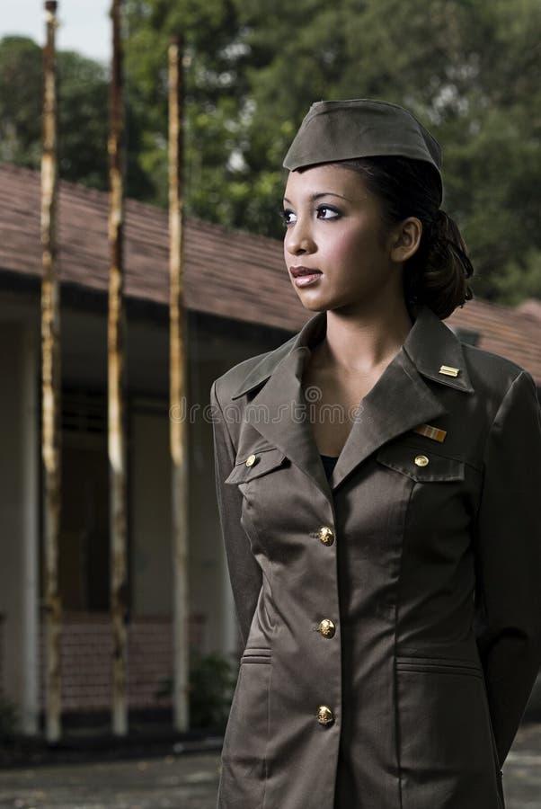 陆军女性人事部 免版税库存照片
