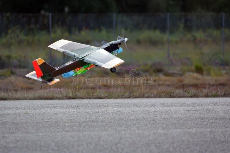 陆军寄生虫飞机飞行 免版税库存照片