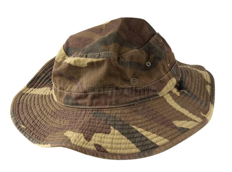 陆军帽子 库存照片