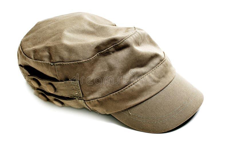 陆军帽子 免版税库存照片