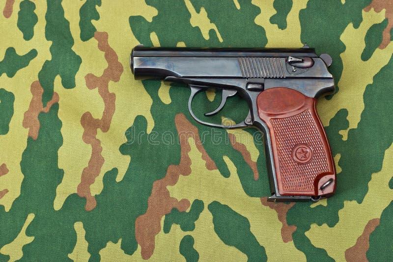 陆军手枪 库存图片