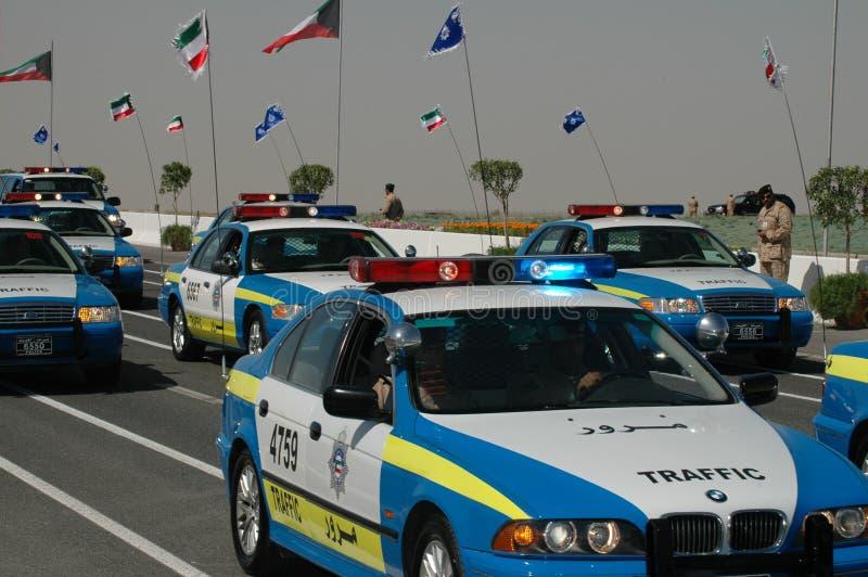 陆军科威特显示 库存图片