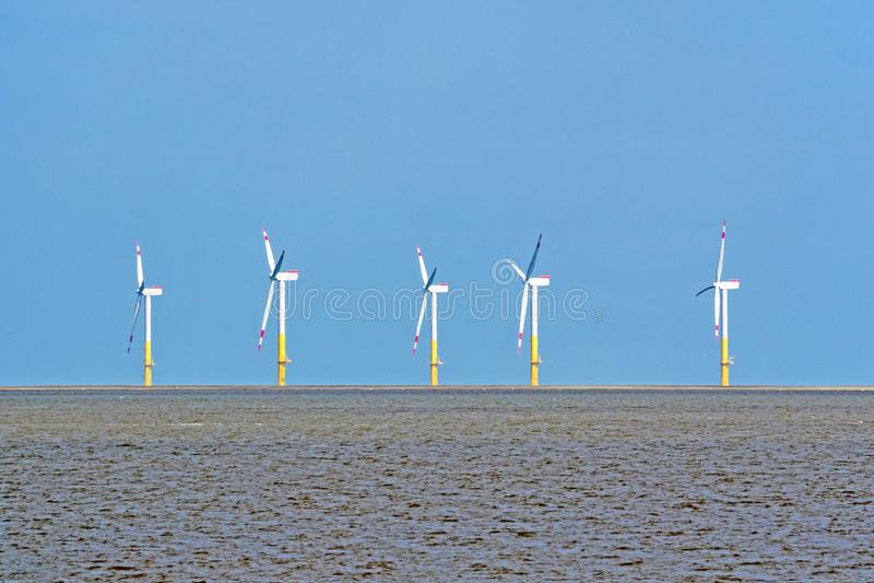 陆风农场在北海 库存照片