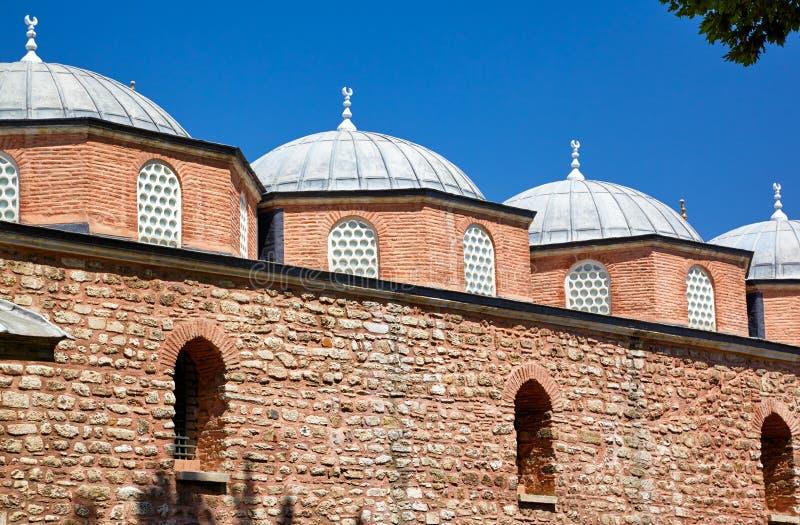 陈列权威和武器, Topkapi宫殿,伊斯坦布尔 图库摄影