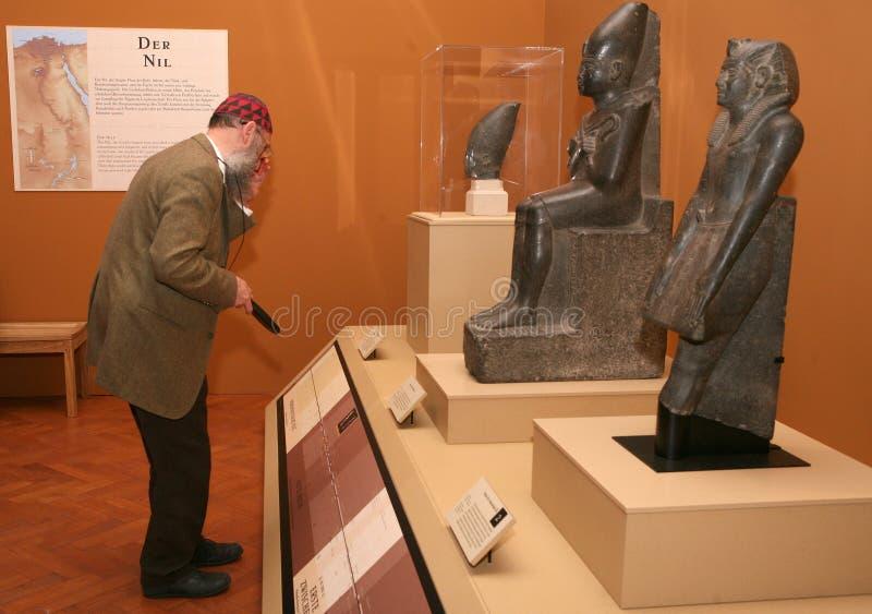 陈列tutankhamun 库存照片