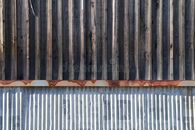 陈年风化旧金属木仓楼 图库摄影