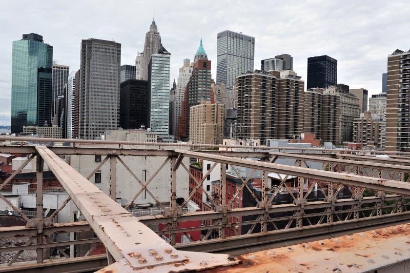 降低曼哈顿-纽约 免版税图库摄影
