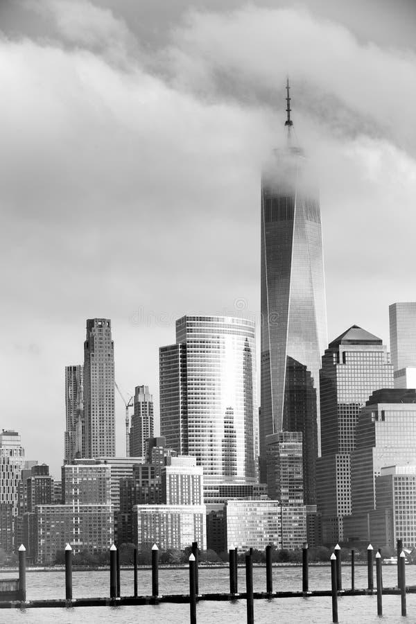 降低曼哈顿 免版税库存图片