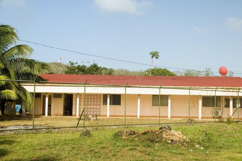 医院医疗中心诊所大马伊斯群岛尼加拉瓜中央 库存照片