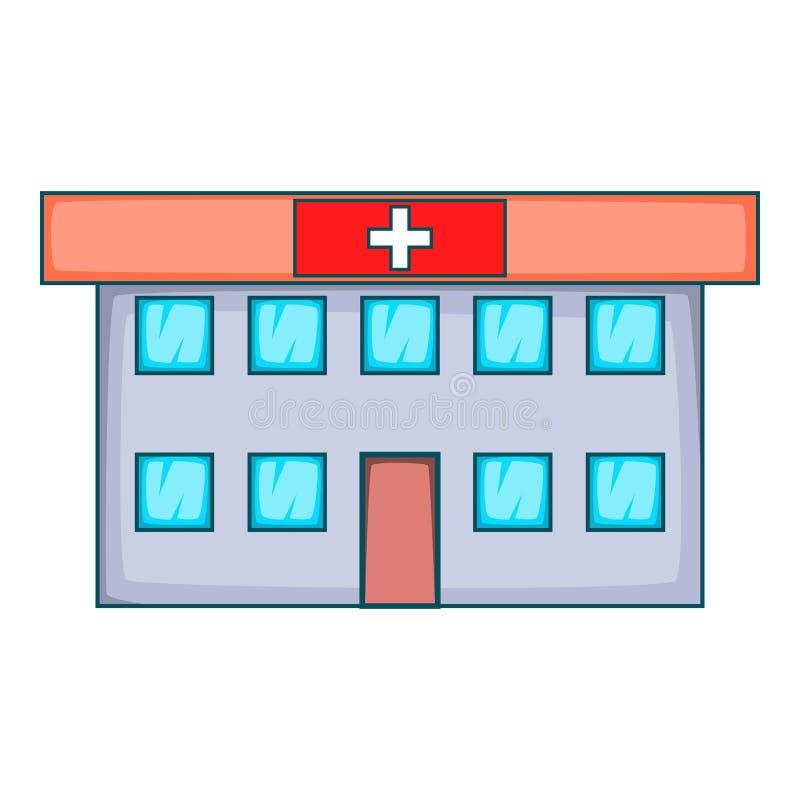 医院象,动画片样式 皇族释放例证