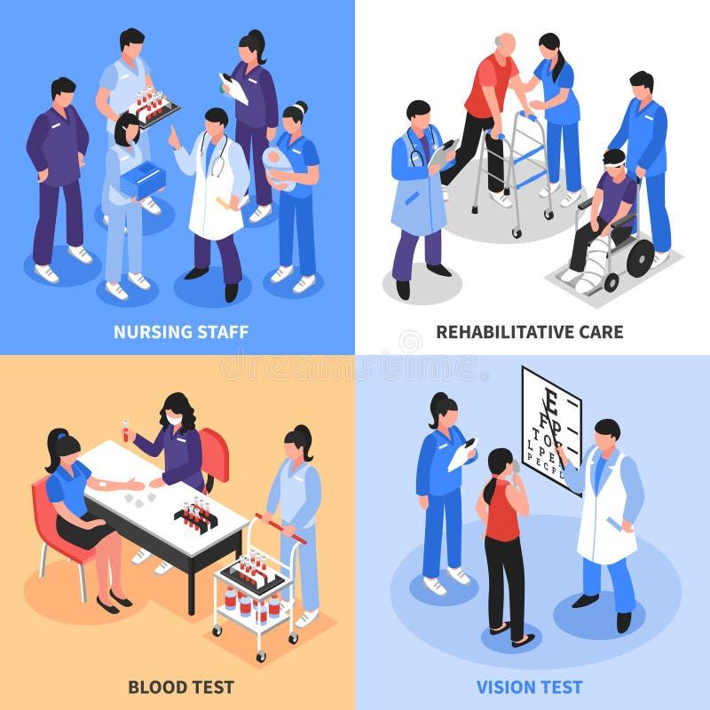 医院4等量象概念 皇族释放例证