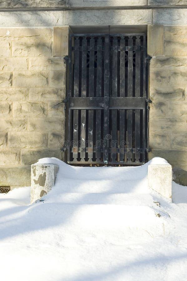 陵墓门 库存照片