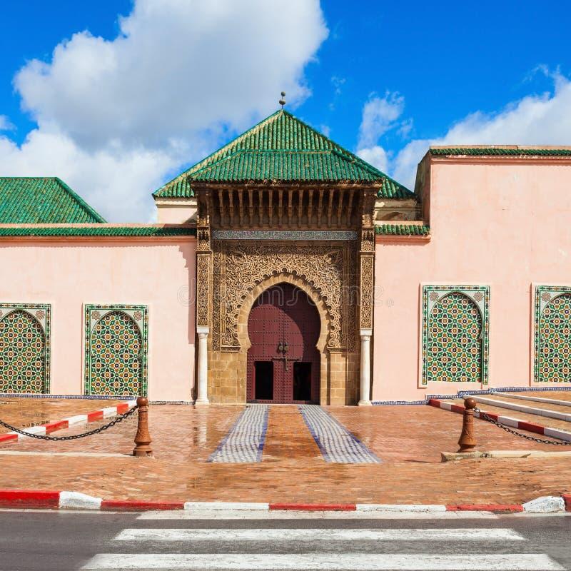 陵墓Moulay伊斯梅尔 库存照片