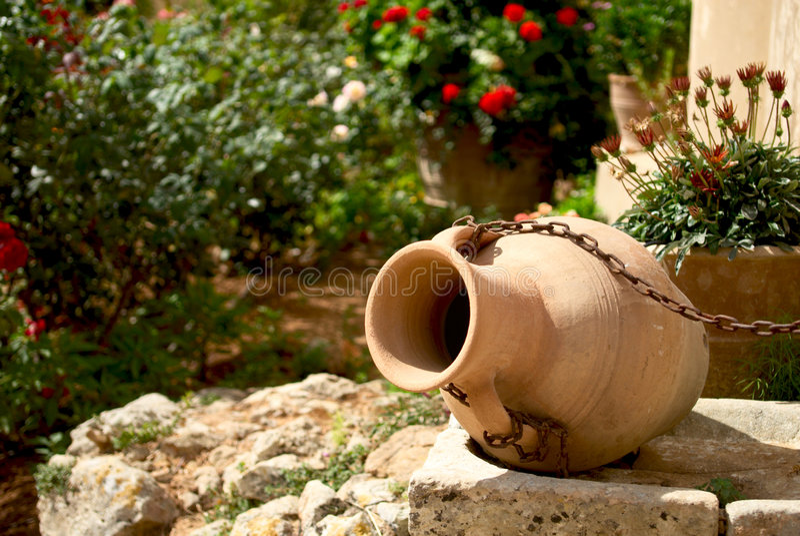 陶器 库存图片