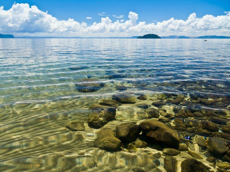陶波湖 库存图片