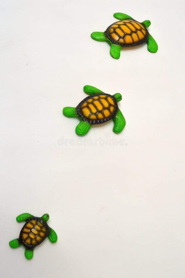 陶瓷乌龟,工艺 库存图片