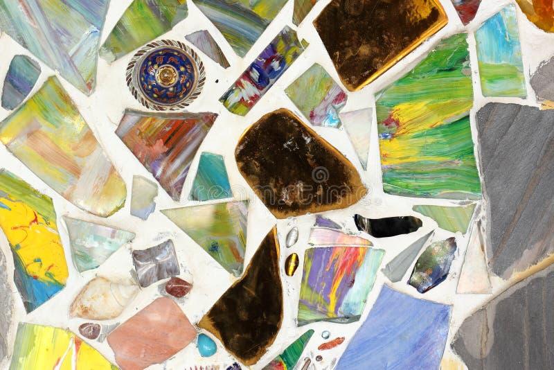 陶瓷墙壁纹理  库存图片